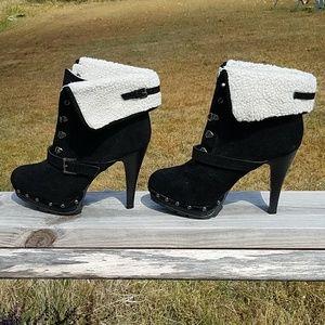 High heel boots from XOXO